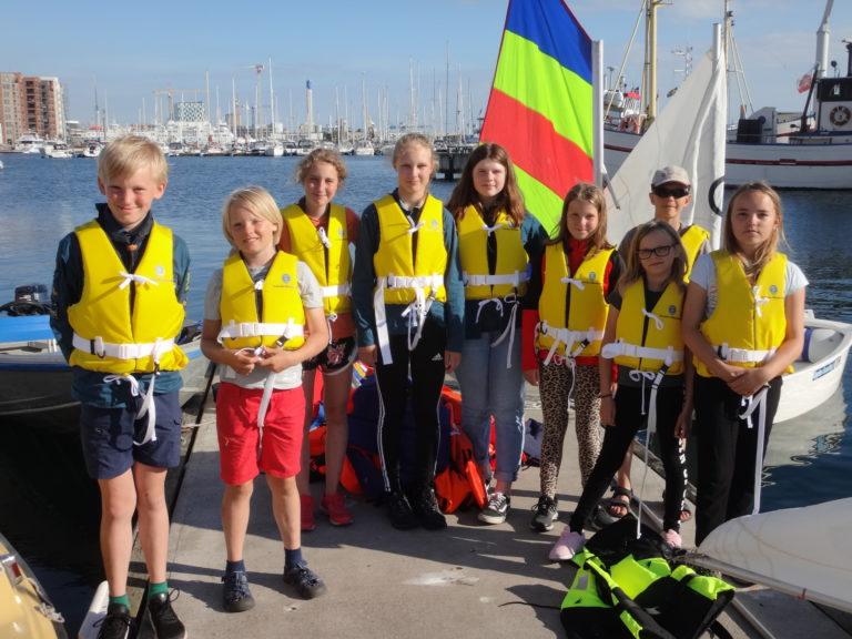 Scoutsegling Norra Hamnen Helsingborg